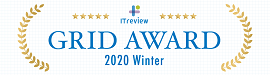 ITreview Grid Award 2019 Summer 人材紹介システム部門